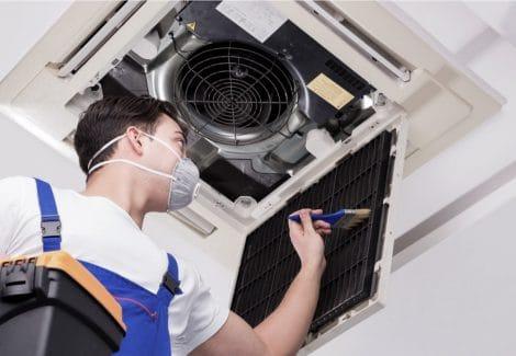 Pulizia e igienizzazione filtri e grate del sistema di Ventilazione Meccanica Controllata