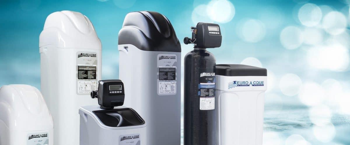 Addolcitori e filtri Euroacque per il trattamento dell'acqua